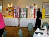 """Women in History,"" created by member Marie Holm, on display at the March 2009 brunch."
